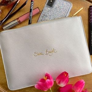 Shine Bright✨Katie Loxton Perfect Pouch (NWT)